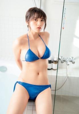 Nashiko Momotsuki Swimsuit Gravure Valentine from Nashiko 2021006