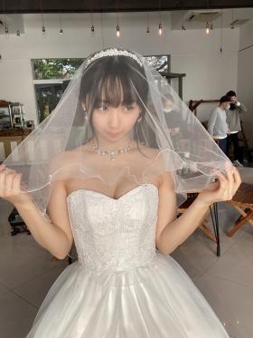 Iori Moe underwear picture bride costume naked apron 2021017