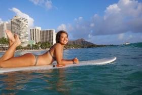 Kairai Shirahase Swimsuit Gravure Nations No2 active body boarder 003
