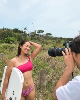 Kairai Shirahase Swimsuit Gravure Nations No2 active body boarder 004
