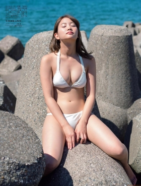 Mariya Nagaothe No1 beauty idol of AKB48in a swimsuit bikini053