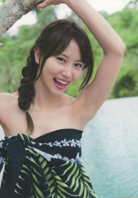Mariya Nagaothe No1 beauty idol of AKB48in a swimsuit bikini112