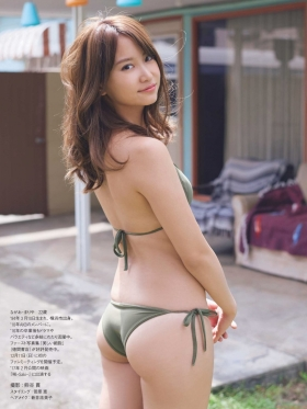 Mariya Nagaothe No1 beauty idol of AKB48in a swimsuit bikini178