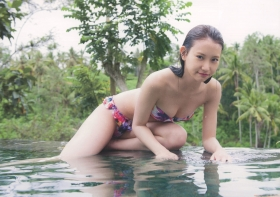 Mariya Nagaothe No1 beauty idol of AKB48in a swimsuit bikini185
