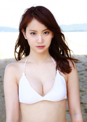 Mariya Nagaothe No1 beauty idol of AKB48in a swimsuit bikini196