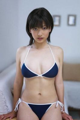 Natsuo Sawada swimsuit gravure005