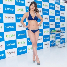 Aoi Fujino swimsuit gravure A promising new star gravure idol who boasts Icup035