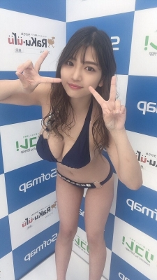 Aoi Fujino swimsuit gravure A promising new star gravure idol who boasts Icup036