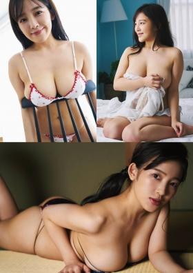 Jun Amagi Swimsuit Gravure Approaching you rapidly003
