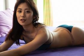 Kazusa Okuyama swimsuit gravure 023