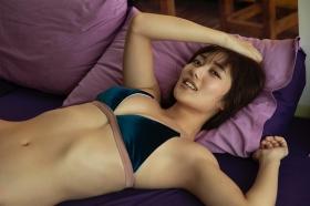 Kazusa Okuyama swimsuit gravure 024