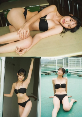 Inoko Reia Swimsuit Gravure Memories of our time together at the end of summer 2021005