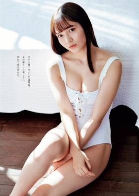 Nanako Kurosaki swimsuit gravure 17 years old holy sign 2021003