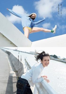 Marin Togashi swimsuit gravure 21entrepreneur new star grader 2021002