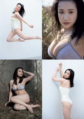 Marin Togashi swimsuit gravure 21entrepreneur new star grader 2021004