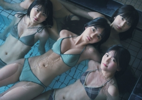 Luna Toyoda Rizakura Yoshida Nami Yamada Yui Tadenuma The four of us on the gravure stageStars that have never crossed each other line up in a row and burst into life009