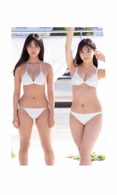 Luna Toyoda Rizakura Yoshida Nami Yamada Yui Tadenuma The four of us on the gravure stageStars that have never crossed each other line up in a row and burst into life027