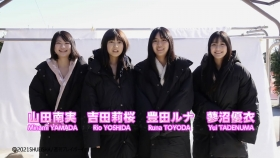 Luna Toyoda Rizakura Yoshida Nami Yamada Yui Tadenuma The four of us on the gravure stageStars that have never crossed each other line up in a row and burst into life002