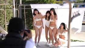 Luna Toyoda Rizakura Yoshida Nami Yamada Yui Tadenuma The four of us on the gravure stageStars that have never crossed each other line up in a row and burst into life008