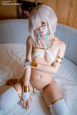 Cosplay Swimsuit Style Costume Marsh Kyrie Lite Dancer Version FGO FateGrand Order004
