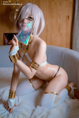 Cosplay Swimsuit Style Costume Marsh Kyrie Lite Dancer Version FGO FateGrand Order008