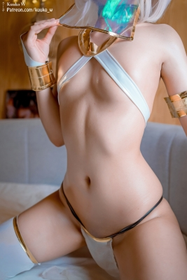 Cosplay Swimsuit Style Costume Marsh Kyrie Lite Dancer Version FGO FateGrand Order009