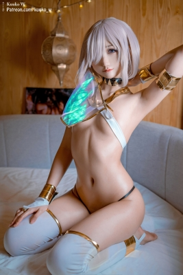 Cosplay Swimsuit Style Costume Marsh Kyrie Lite Dancer Version FGO FateGrand Order011