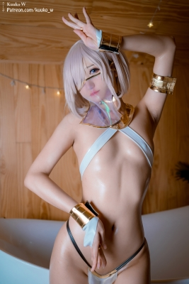 Cosplay Swimsuit Style Costume Marsh Kyrie Lite Dancer Version FGO FateGrand Order013