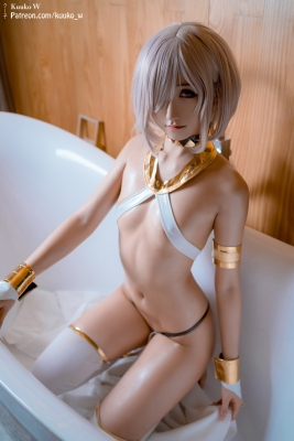 Cosplay Swimsuit Style Costume Marsh Kyrie Lite Dancer Version FGO FateGrand Order019