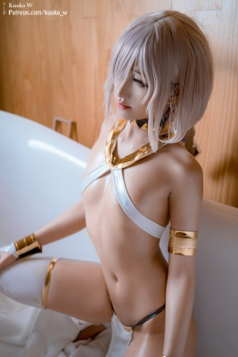 Cosplay Swimsuit Style Costume Marsh Kyrie Lite Dancer Version FGO FateGrand Order020