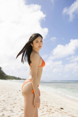 Naomi Majima Swimsuit Gravure001