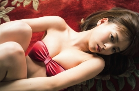 Yume Shinjo Swimsuit Gravure A Japanese heroine with a smile that charms everyone in the clear air 2021007