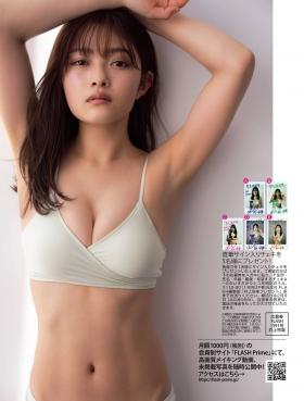 Sakuraku Inoues first attempt at swimsuit gravureVariety Queen 2021006