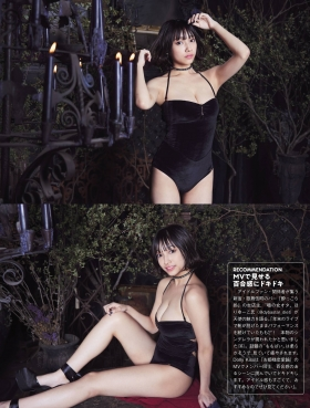 Tenshi Momo swimsuit gravure Tenshi soaring in the dark 2021005