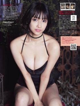 Tenshi Momo swimsuit gravure Tenshi soaring in the dark 2021006