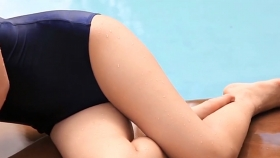 Kaede Hashimoto School swimsuit gravure Youth pool009