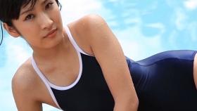 Kaede Hashimoto School swimsuit gravure Youth pool011