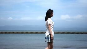 Rei Kaminishi swimsuit gravure First photo book Temperature of Water 2020024