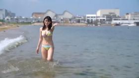 Rei Kaminishi swimsuit gravure First photo book Temperature of Water 2020051