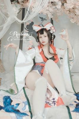 Cosplay SwimsuitStyle Costume HanachoFuGetsu YinYangShi SemiNude001