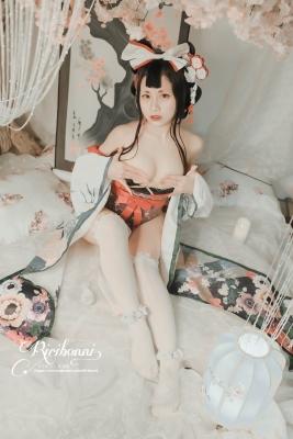 Cosplay SwimsuitStyle Costume HanachoFuGetsu YinYangShi SemiNude004