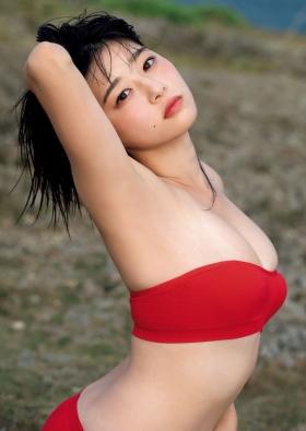Yurika Wagatsuma Swimsuit Gravure Angel with hearing aid 2021008