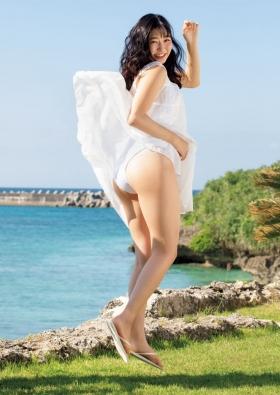 Yurika Wagatsuma Swimsuit Gravure Angel with hearing aid 2021013