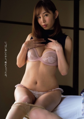 Misumi Shioji former announcer of Akita Asahi Broadcasting exposes her limits on a hot spring trip2021002