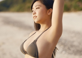 Yuuno Ohara swimsuit gravure 2021 calendar on sale008