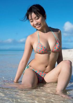 Yuuno Ohara swimsuit gravure 2021 calendar on sale017