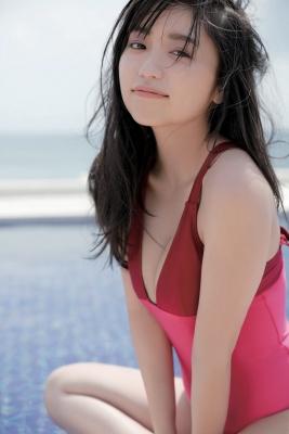 Yuuno Ohara swimsuit gravure 2021 calendar on sale046
