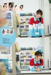 Iori Moe swimsuit gravure Room, convenience store and I 2021009