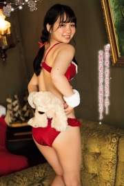 A girl in a bathing suitShe is a high school student and a SantaClaus! Fcup with 150cm height 2021003