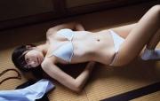 Risa Yoshida swimsuit gravure white blouse tatami room devilish flower scent confuse me 2021003